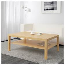 furniture home ikea round coffee table tempered glass white new