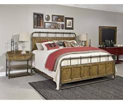 broyhill furniture new vintage metal wood bedstead