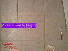 How To Clean Kitchen Tile Grout - how to faux paint a tile backsplash in your kitchen unsanded