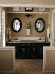 Painting Ideas For Bathroom Best 25 Black Cabinets Bathroom Ideas On Pinterest Black