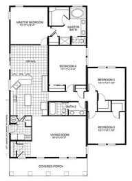 small 4 bedroom floor plans small house plans 4 bedrooms dayri me
