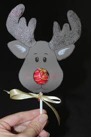 Reindeer Christmas Decoration Template by Reindeer Lollipop Card Tutorial Tutorials Xmas And Craft