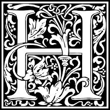 letter h clipart