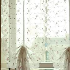 Pink Flower Curtains Aliexpress Com Buy New Arrival Pink Flower Embroidery Balloons