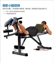 Gym Sit Up Bench Multifunction Gym Fitness Equipment Sit Up Dumbbell Fid Bicep Leg