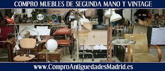 muebles de segunda mano en madrid compro muebles de segunda mano y vintage en madrid