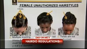 army releases latest policies on female hairstyles tattoos kvia
