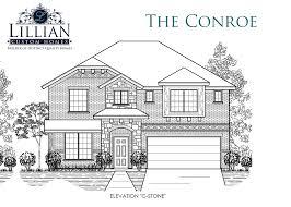 the conroe saginaw springs new home floor plan saginaw texas