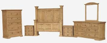 Rustic Bedroom Furniture Set by Rustic Bedroom Furniture Set Pine Wood Bedroom Set