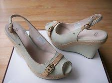 ugg noella sale ugg australia denim platforms wedges heels for ebay
