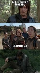 Walking Dead Meme Daryl - the walking dead dibs memes of the walking dead the walking