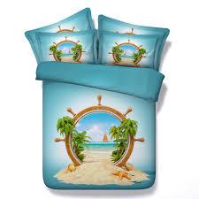 Beach Themed Bed Sheets Online Get Cheap Beach Themed Bedding Aliexpress Com Alibaba Group