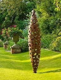 contemporary garden sculpture stainless steel sculpture large