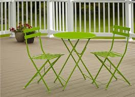 Folding Outdoor Table And Chairs And Twinkle