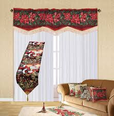 amazon com violet linen decorative christmas tapestry window