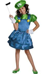 Mario Luigi Halloween Costume Super Mario Costumes Super Mario Brothers Costumes Kids