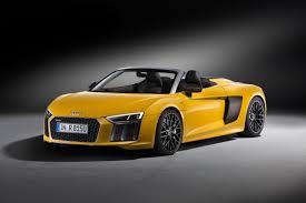 nissan spyder 2017 audi r8 spyder first look news cars com