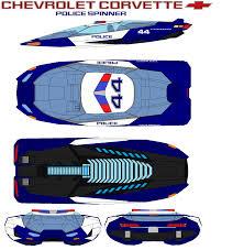 police corvette chevrolet corvette police spinner by bagera3005 on deviantart