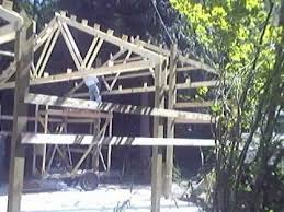 Truss Spacing Pole Barn Truss Installation And Framing Youtube
