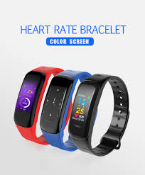 heart rate bracelet images C1 plus ppg smart sport bracelet with heart rate monitoring jpg