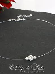 collier de mariage collier de mariée bulle