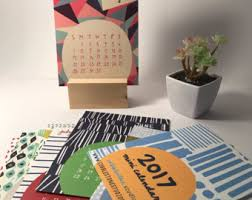Small Easel Desk Calendar 2018 Desk Calendar Mini 2018 Desk Calendar With Stand