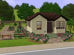 mod the sims small farm house with huge harvestable garden