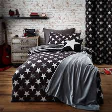 Dunelm Mill Duvet Covers Stars Black Duvet Cover Set Dunelm
