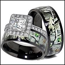 camo wedding ring sets his and camo wedding ring sets wedding inspiration