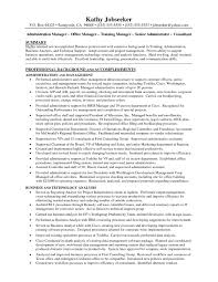 Administrative Assistant Job Resume by Office Assistant Duties