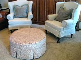 Stretch Ottoman Slipcover Lovely Oversized Ottoman Slipcover Click To Enlarge Sure Fit Large