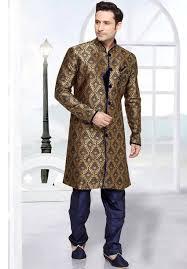 wedding attire mens blue gold indian wedding attire for men