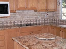 kitchen backsplash ideas with oak cabinets kitchen ideas light