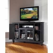 Furniture For Lcd Tv Crosley Furniture Cambridge Corner Tv Stand For Tvs Up To 48