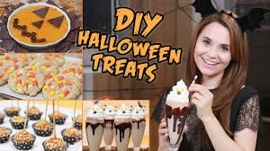 Cold Halloween Appetizers by Diy Halloween Treats Youtube