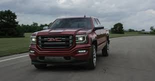 gmc shows sierra with eassist system