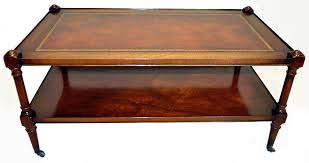 Coffee Tables Ebay Antique Leather Top Table Ebay Regarding Popular House Coffee