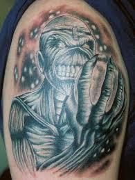 for unique tattoos iron maiden u003d