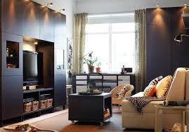 Tv Room Furniture Sets Gray Carpet On The Laminate Wooden Floor Ikea Modern Living Room