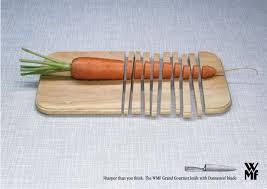 wmf kitchen knives wmf kitchen knives carrot sharper print ad by knsk