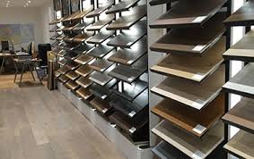 wood flooring showroom in