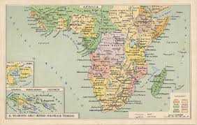 Map Of Eastern Africa by British East Africa