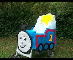 Thomas Tank Engine Halloween Costume Stroller Costume Thomas Train Ride Stroller