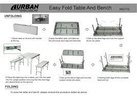 folding table and bench set u2013 folding table and bench set folding
