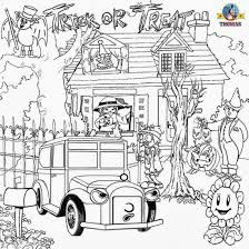 Kids Halloween Coloring Pages Hard Halloween Coloring Pages Az Coloring Pages With Halloween