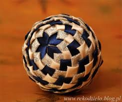 best 25 fabric balls ideas on pinterest folded fabric ornaments