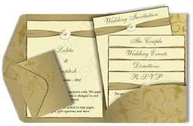pocket fold email wedding card design 14 luxury indian asian
