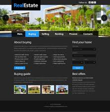 free website template real estate