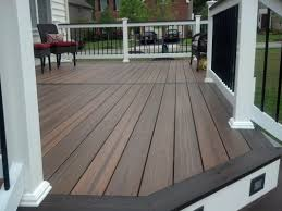 great evergrain decking for deck inspiration brown evergrain