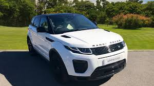 land rover hse white used land rover range rover evoque 2 0 td4 hse dynamic 5dr auto